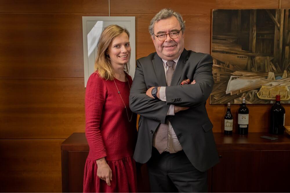 Astrid et Frédéric Salin | Maison Salin, négociant en Grands Crus Classés à Bordeaux