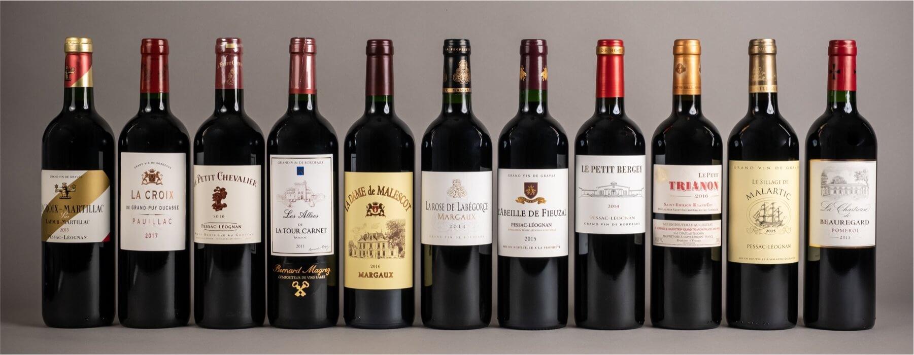 Seconds vins de Grands Crus Classés | Salin, négociant à Bordeaux
