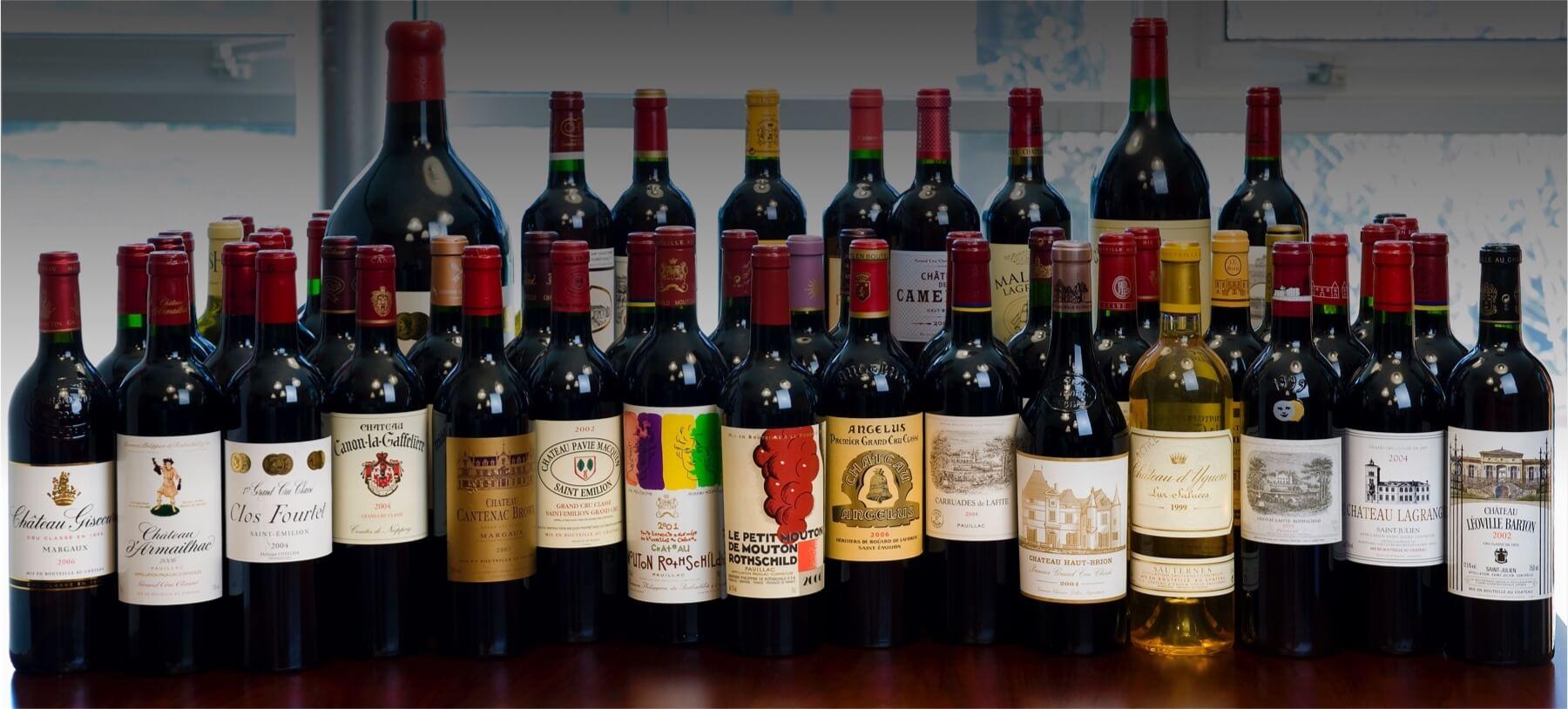 Grands crus classés de Bordeaux | Salin, négociant en vin à Bordeaux